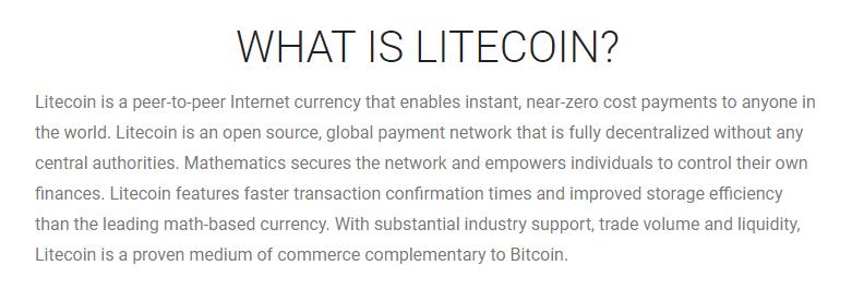 Litecoin via Litecoin.org