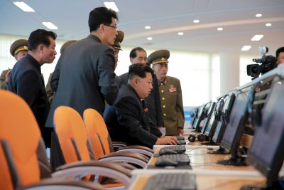 North Korean leader Kim Jong Un gives field guidance at the Sci-Tech Complex in Pyongyang, 28 October 2015 (Photo: Reuters/KCNA).